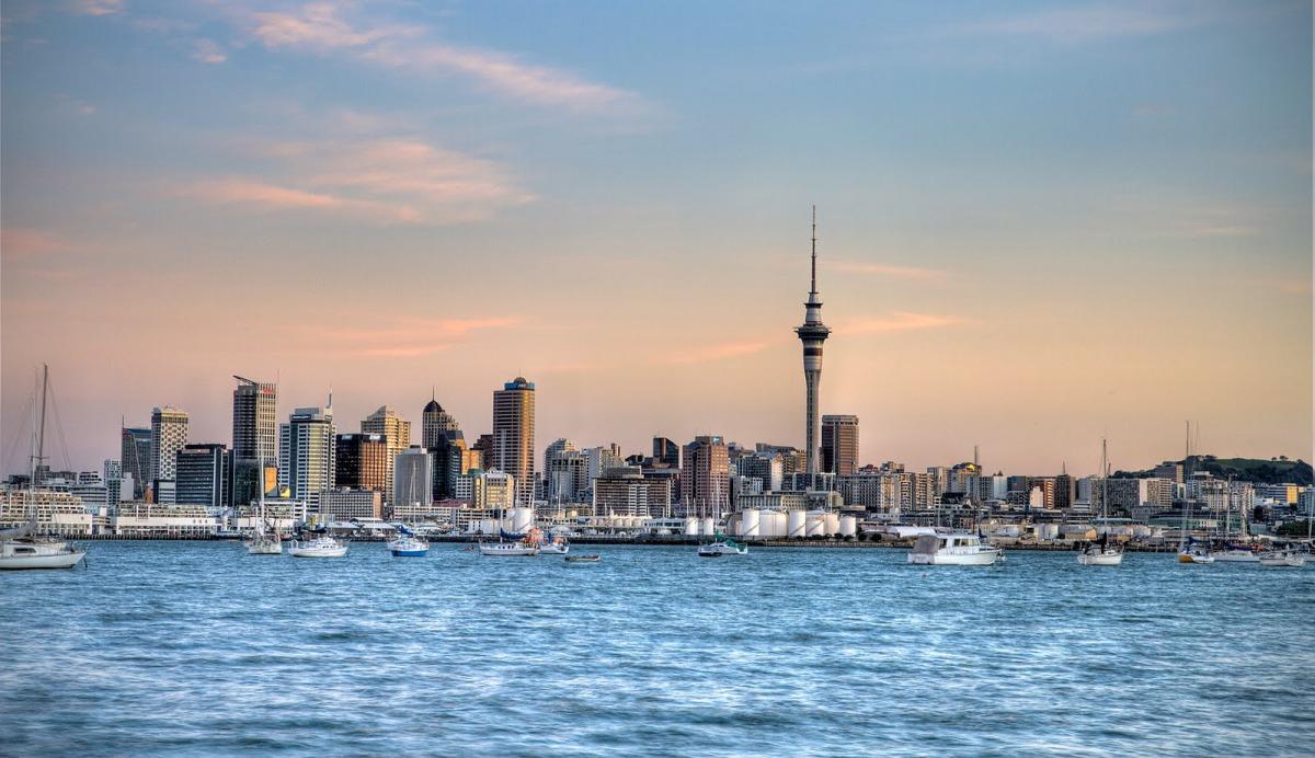 Обои окленд, Вечер, огни, Новая Зеландия. Города foto 19